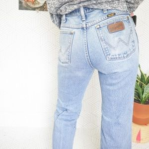 Vintage Wrangler Light wash high waist jeans